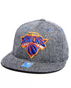 Adidas - New York Knicks Flat brim tweed snapback hat