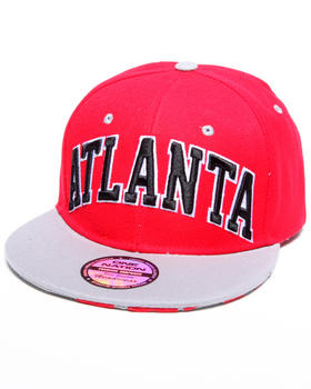 "Buyers Picks - ""Atlanta"" City Snapback hat (Undervisor treatment)"