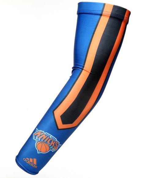 Adidas Men Blue New York Knicks Arm Sleeve
