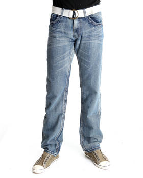 Basic Essentials - Cross Back Pocket Denim Jeans