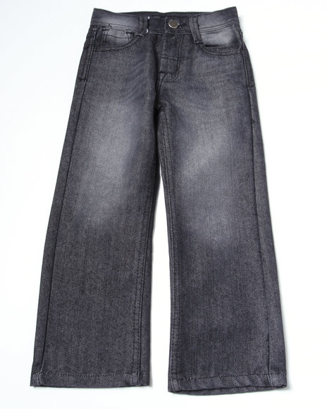 Akademiks Boys Black Battery Jeans (4-7)