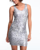 Fashion Lab - Braxton sequin mini dress