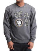 LRG - Iron Camo Lion Crewneck Sweatshirt