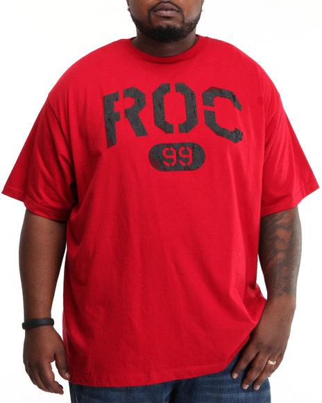 Rocawear Men Red Roc 99 S/S Tee (B&T)