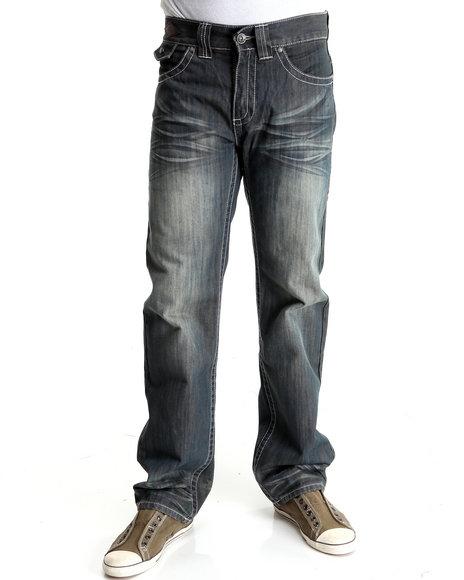 Pelle Pelle Men Vintage Wash American Legend Denim Jeans