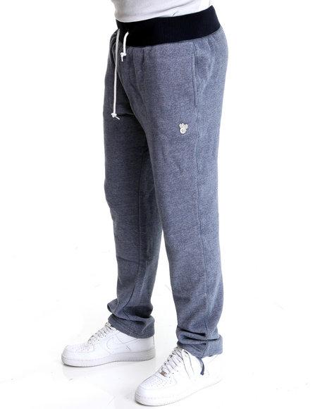 LRG Men Navy Derision Slim Sweatpants