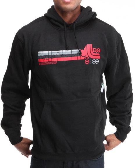 LRG Men Black Wearmax Pullover Hoodie