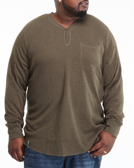 LRG Men Olive So Sensi L/S Thermal (B&T)