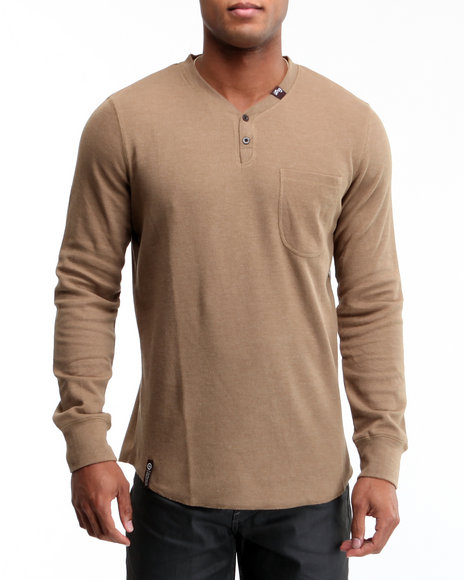 LRG Men Brown So Sensi L/S Thermal
