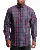 Nautica - Poplin Mini Plaid Button-Down Shirt