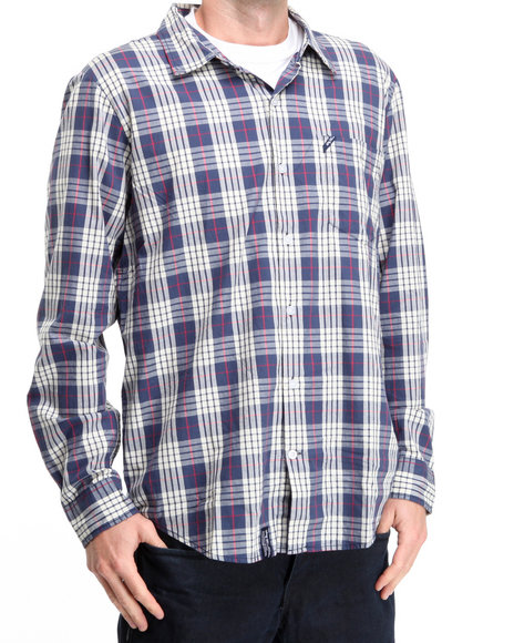 Lrg Men Off White Wander In L/S Button-Down