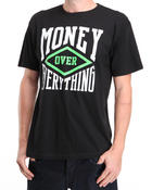T-Shirts - Money Over Everything tee