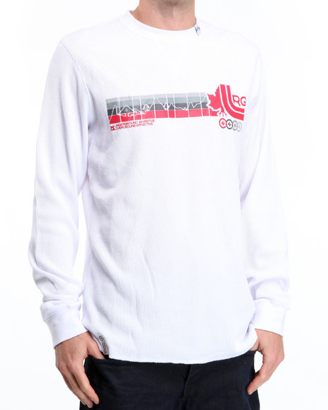 LRG Men White Wearmax Thermal