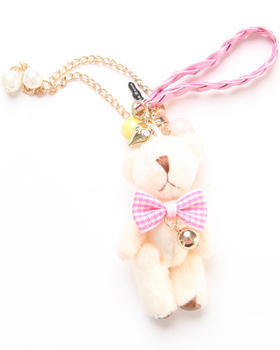 Fashion Lab - Sammie Bear Phone Plug