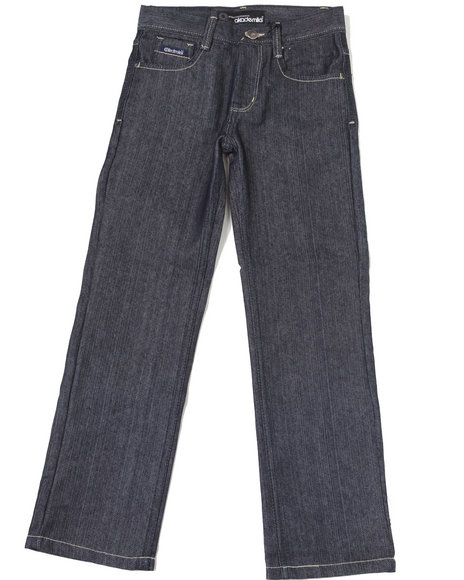 Akademiks Boys Blue,Raw Wash Garfield Jeans (8-20)