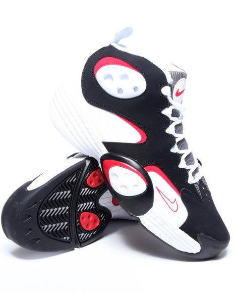 Nike Men White Nike Flight One Sneakers