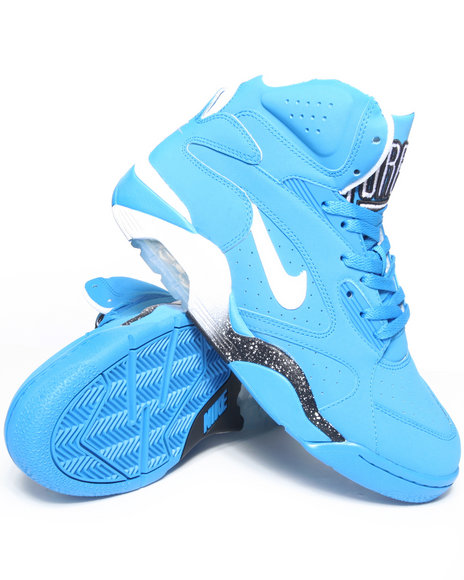 Nike Men Blue Nike Air Force 180 Mid Sneakers
