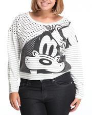 Plus Size - Goofy Polka Dot Pullover