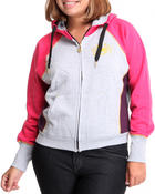Women - Color Block Hoodie