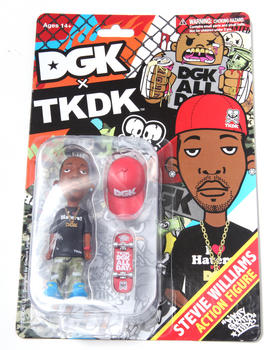 "DGK - DGK x TKDK Stevie Williams 4"" Action Figure"