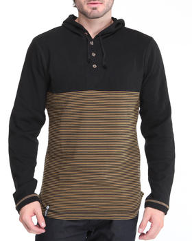 LRG - Black Ops Hooded Henley
