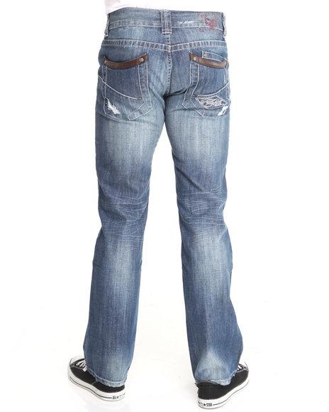 Pelle Pelle Men American Legend Phone Pocket Denim Jeans