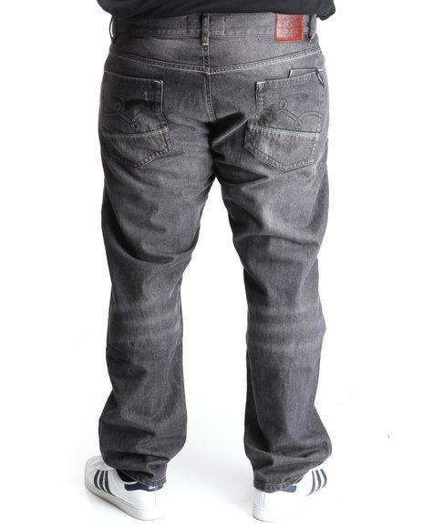 LRG Men Black Mangrove True-Straight Denim Jeans (B&T)