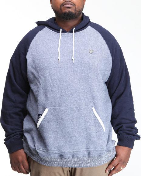 LRG Men Navy Derision Pullover Hoodie (B&T)
