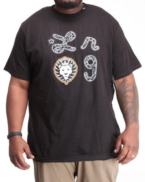 LRG Men Black Iron Camo Lion Tee (B&T)