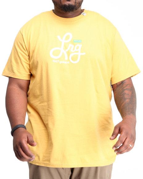 LRG Men Yellow 1947-Present Tee (B&T)