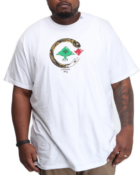 LRG Men White Cold Blooded S/S Tee (B&T)