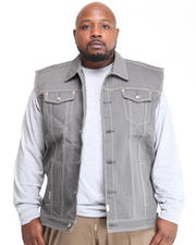 Outerwear - Billy Jack Denim Vest (B&T)
