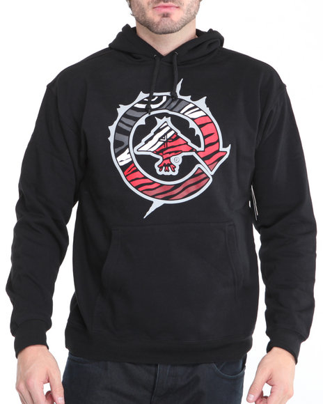 Lrg Men Black L R G Limited - Edition Man Vs. Style Pullover Hoodie