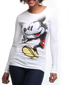Graphix Gallery - Mickey Run! Long Sleeve Tee