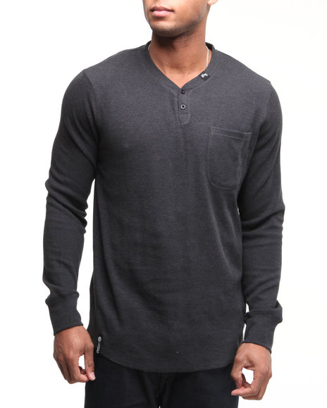 LRG Men Black So Sensi L/S Thermal