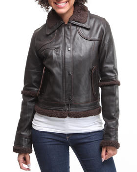 DRJ Leather Shoppe - Leather Flight Jacket