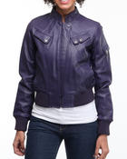 Women - Kara Leather jacket