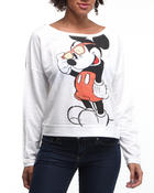 Women - Mickey Mouse stoned Pullover