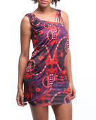 Apple Bottoms - Printed Multi Strap Dress