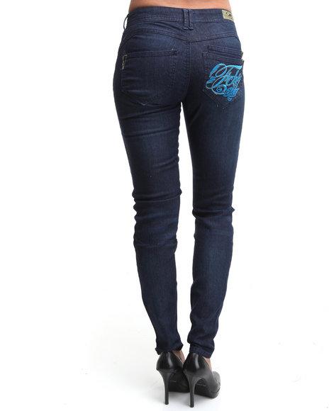Ecko Red Women Black Skinny Jean