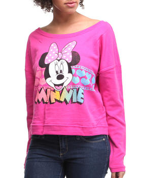 Graphix Gallery - Minnie french terry Long Sleeve Pullover
