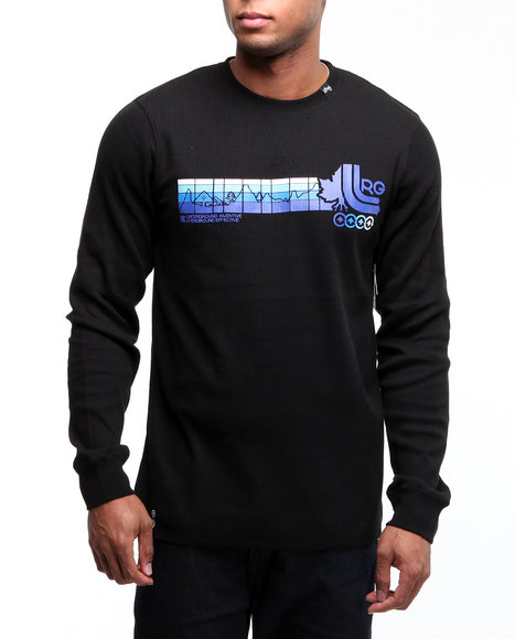 LRG Men Black Wearmax Thermal