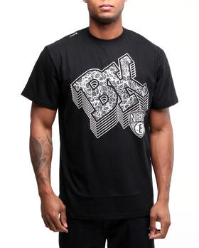 NBA, MLB, NFL Gear - Brooklyn Nets initials tee