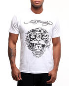 Ed Hardy - Tiger Head Basic Tee