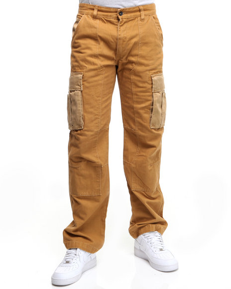 Rocawear Men Meister Classic Fit Cargo Pants
