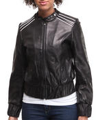 Outerwear - Racher leather jacket
