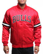 Mitchell & Ness - Chicago Bull Backup Satin Jacket