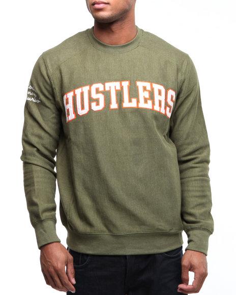 Rocawear Men Green Hustler Crewneck Sweatshirt