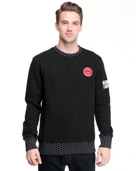 DJP OUTLET - Fish Scale L/S crewneck