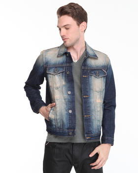 Cult Of Individuality - Heritage Copper Japanese Denim Jacket